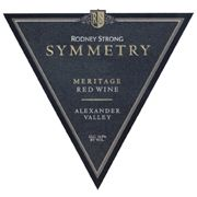 Rodney Strong Symmetry Meritage (1.5 Liter Magnum) 2002 Front Label