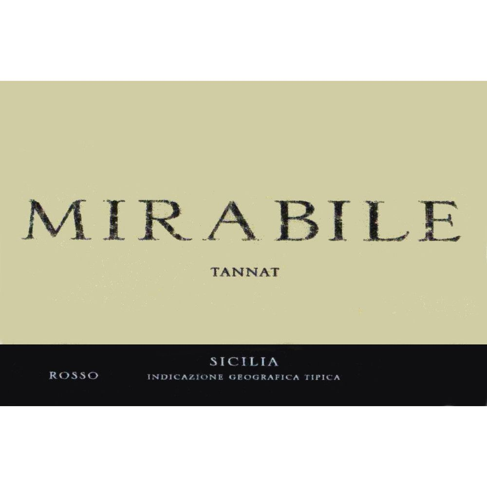 Mirabile Tannat 2005 Front Label