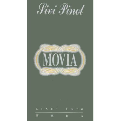 Movia Pinot Grigio 2006 Front Label