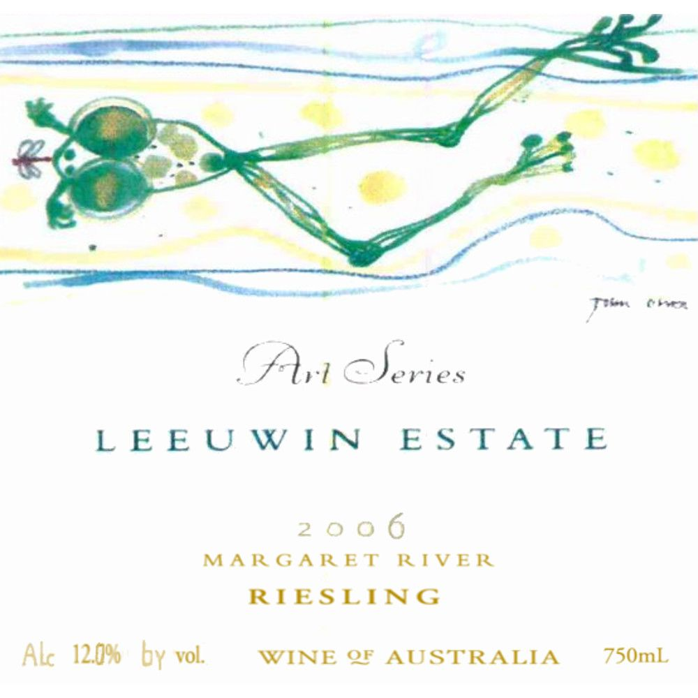 Leeuwin Estate Art Series Riesling 2006 Front Label