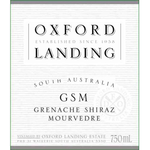 Oxford Landing GSM - Grenache Shiraz Mourvedre 2007 Front Label