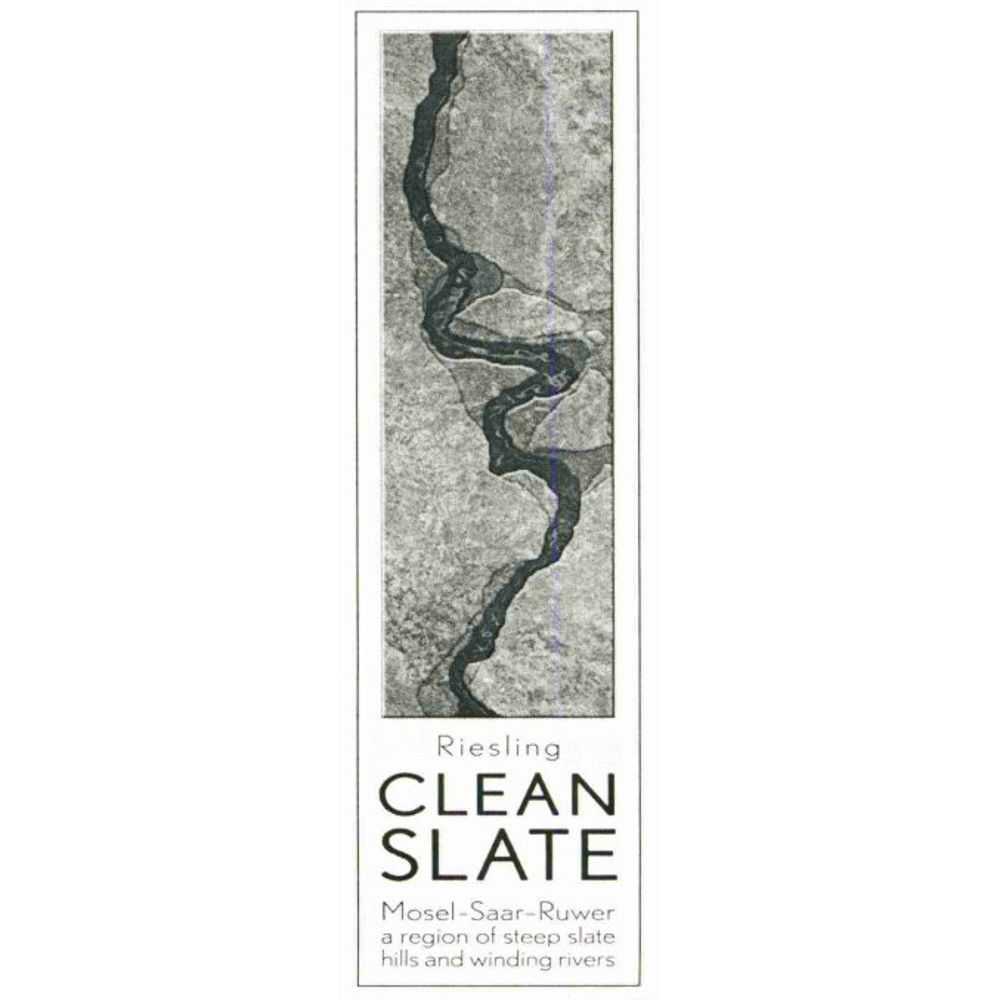 Clean Slate Riesling 2008 Front Label