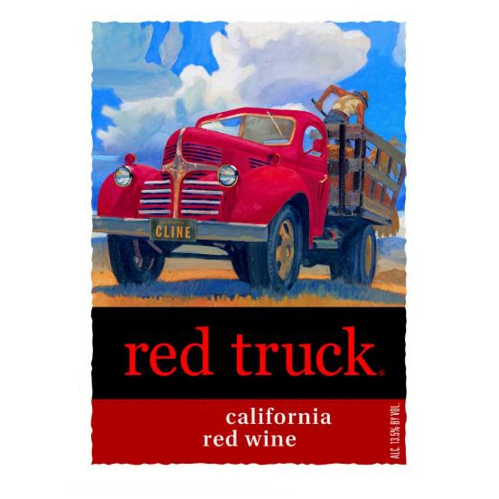 Red Truck Winery Red Blend 2007 Front Label