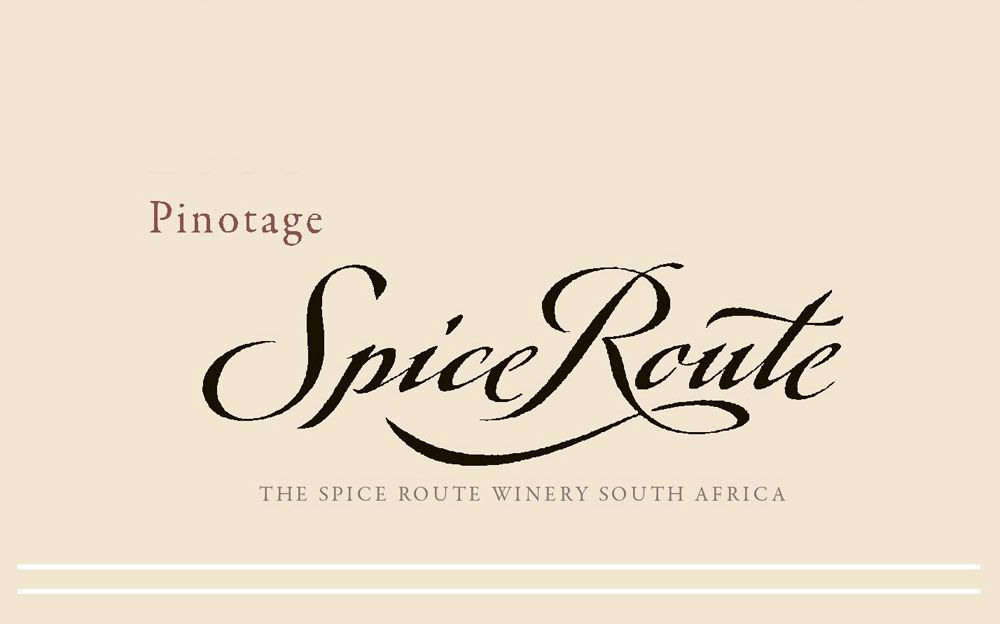 Spice Route Pinotage 2008 Front Label