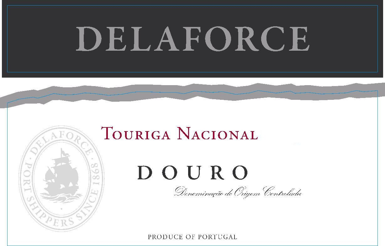 Delaforce Touriga Nacional 2012 Front Label