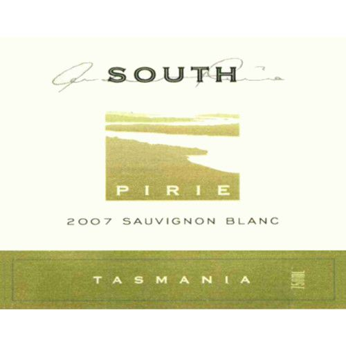 Pirie Tasmania South Sauvignon Blanc 2007 Front Label