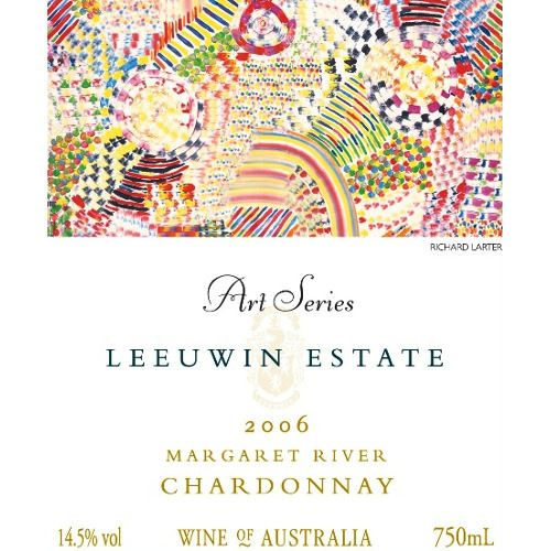Leeuwin Estate Art Series Chardonnay 2006 Front Label