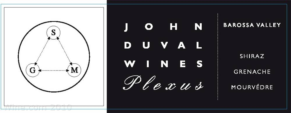 John Duval Plexus Red 2007 Front Label