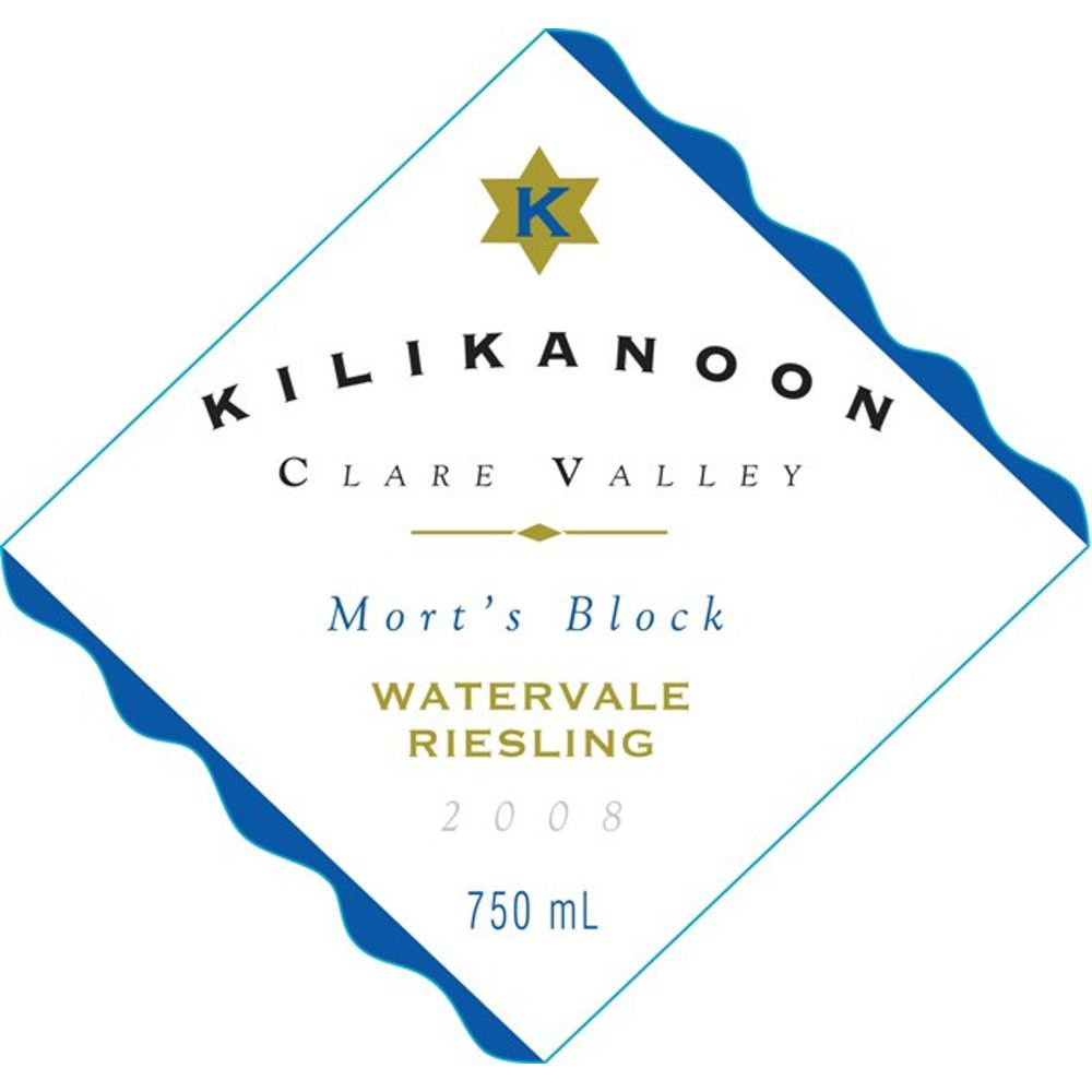 Kilikanoon Mort's Reserve Riesling 2008 Front Label