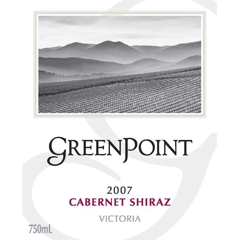 Green Point Cabernet/Shiraz 2007 Front Label