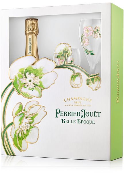 Perrier-Jouet Belle Epoque With Glassware Set 2012  Gift Product Image