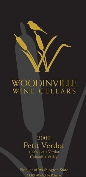 Woodinville Wine Cellars Petit Verdot 2009 Front Label