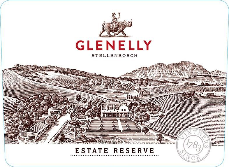 Glenelly Estate Reserve Red 2013  Front Label