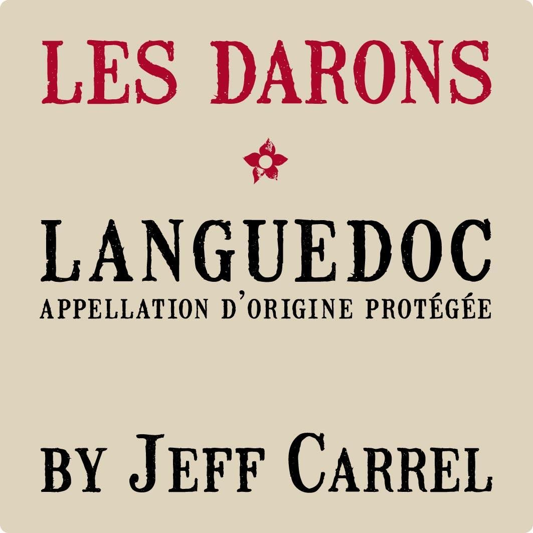 Jeff Carrel Languedoc Les Darons 2017 Front Label