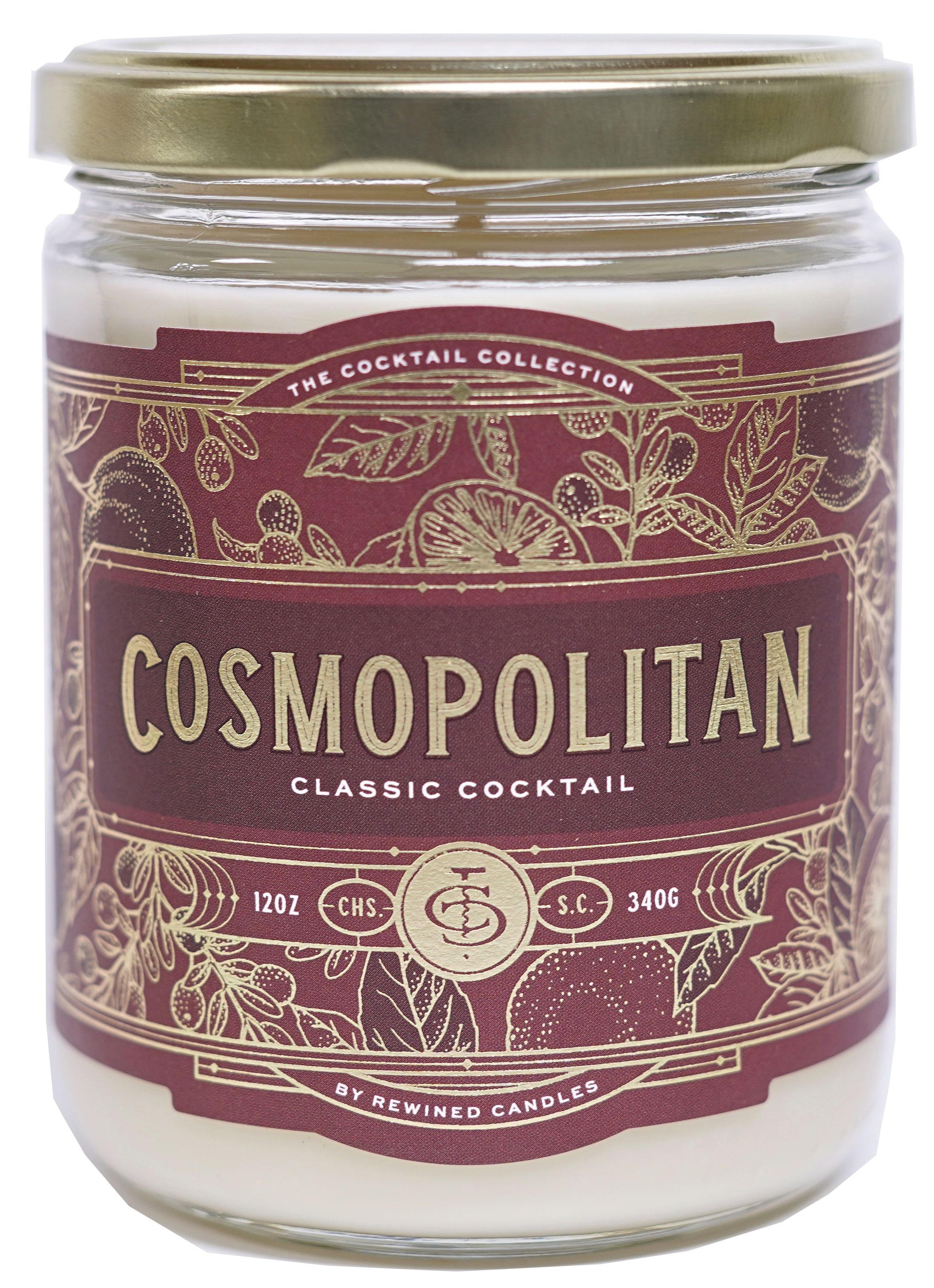 wine.com Cosmopolitan Candle by Rewined  Gift Product Image