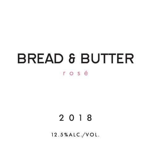 Bread & Butter Rose 2018 Front Label