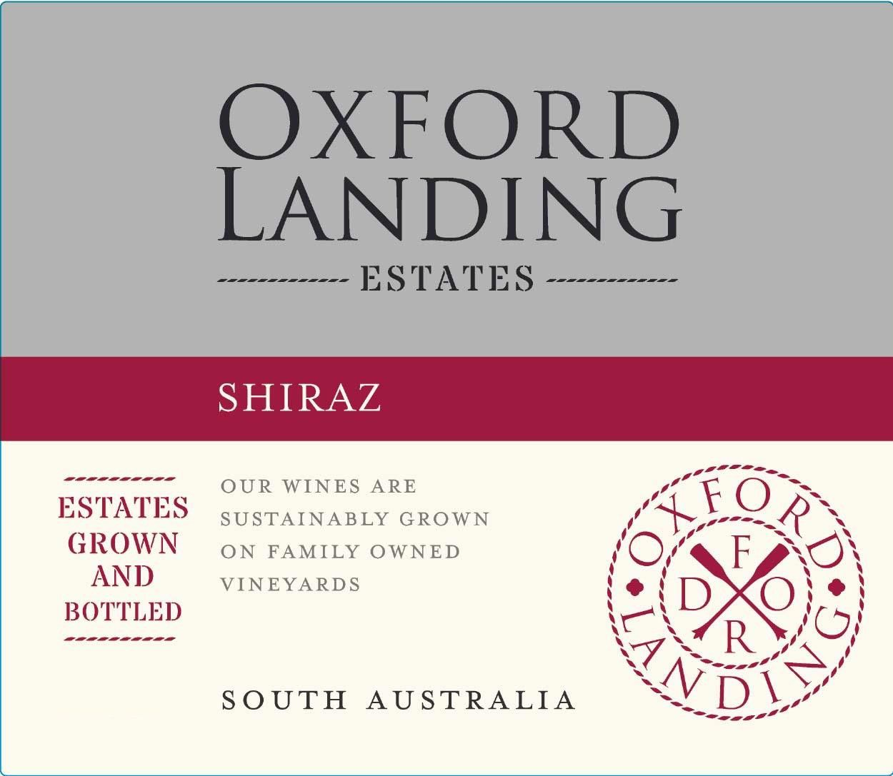 Oxford Landing Shiraz 2018  Front Label