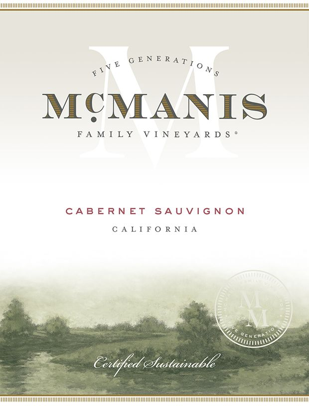 McManis Family Vineyards Cabernet Sauvignon 2018  Front Label