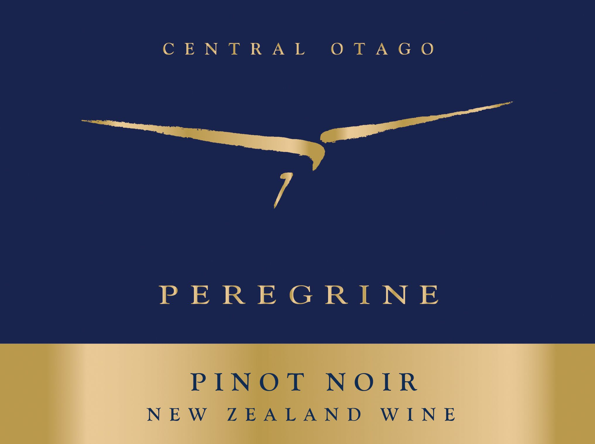 Peregrine Pinot Noir 2014  Front Label