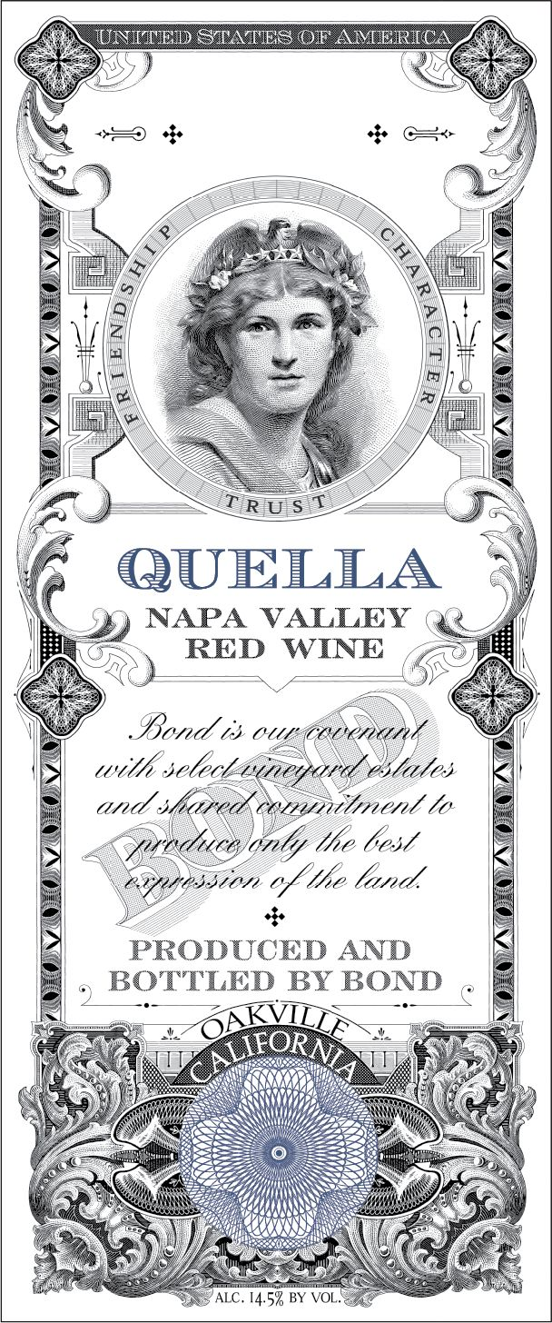 Bond Quella 2016  Front Label