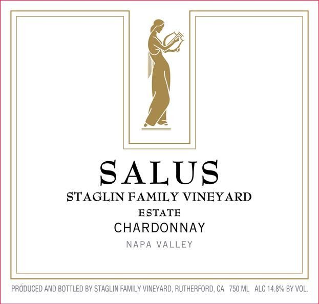 Staglin Salus Chardonnay 2017  Front Label