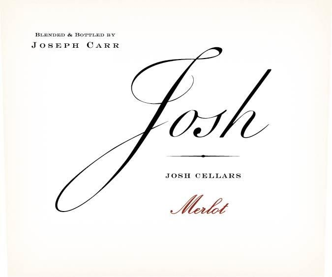 Josh Cellars Merlot 2017 Front Label