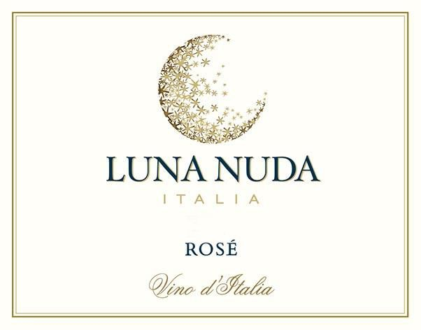 Luna Nuda Rose 2019  Front Label