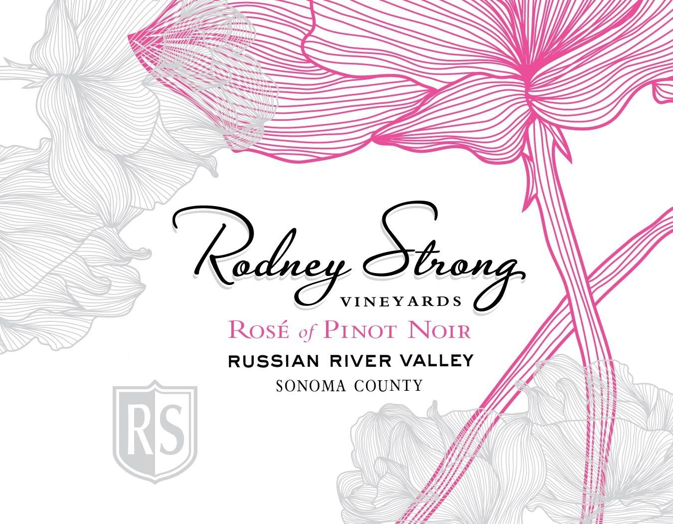 Rodney Strong Rose of Pinot Noir 2018 Front Label