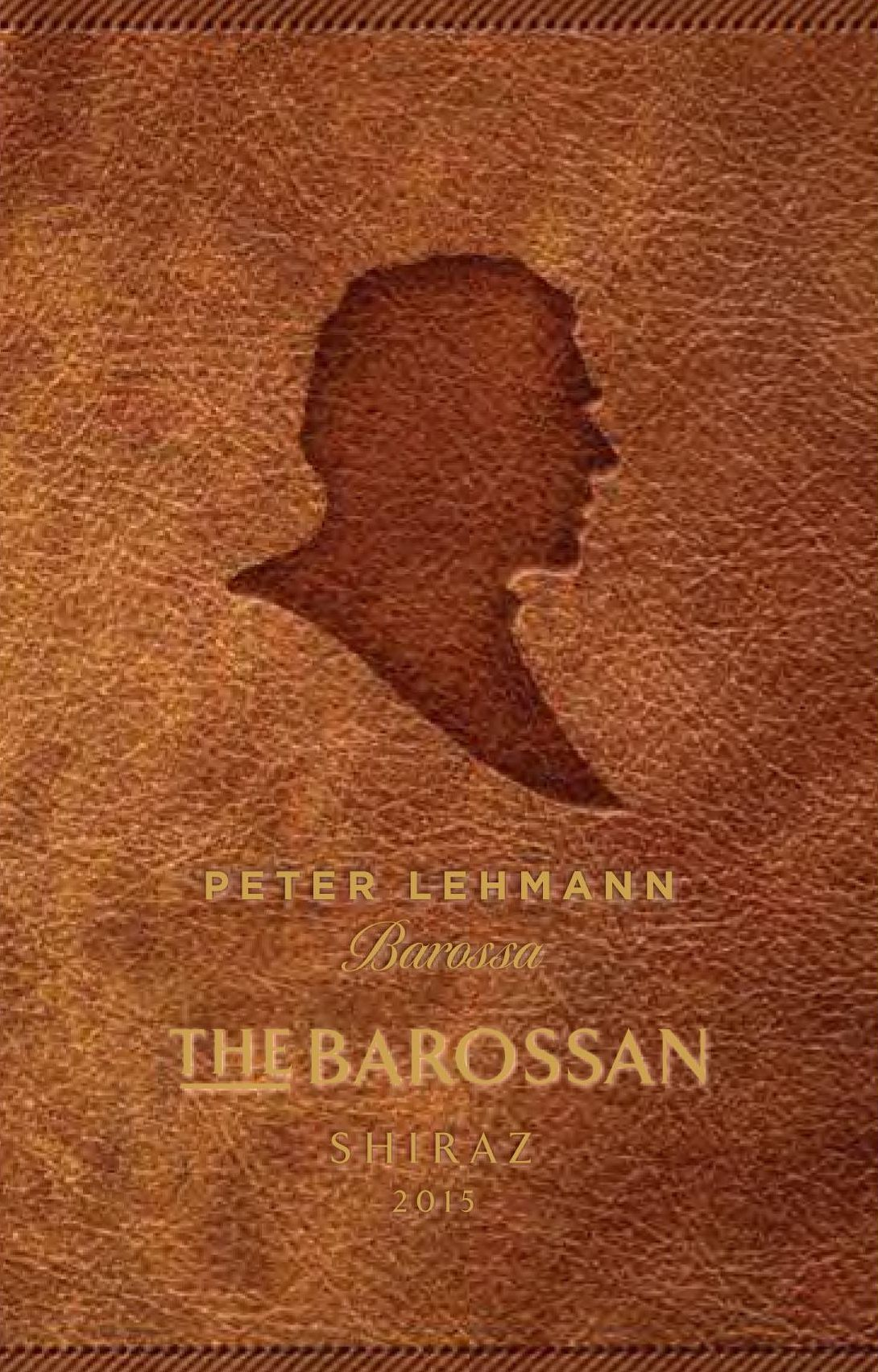 Peter Lehmann The Barossan Shiraz 2015 Front Label