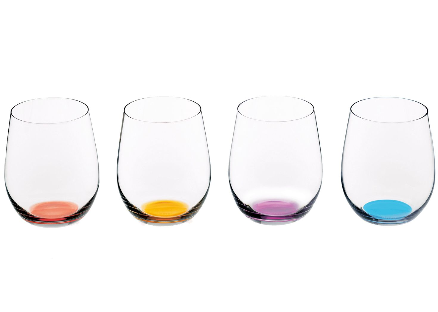 Riedel Happy O Wine Tumbler Glasses (Set of 4)  Gift Product Image