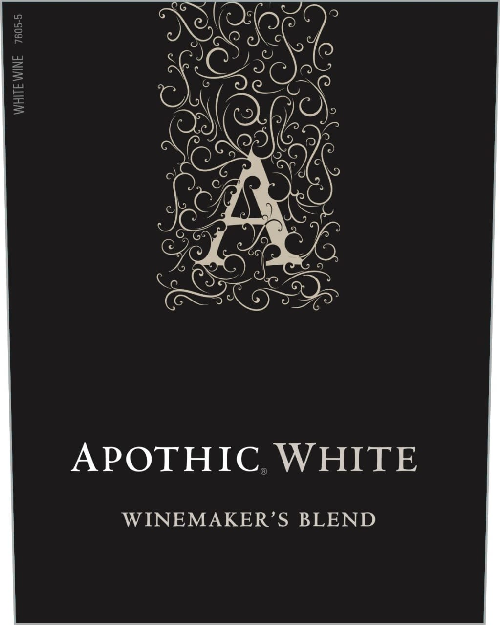 Apothic White Blend 2018  Front Label