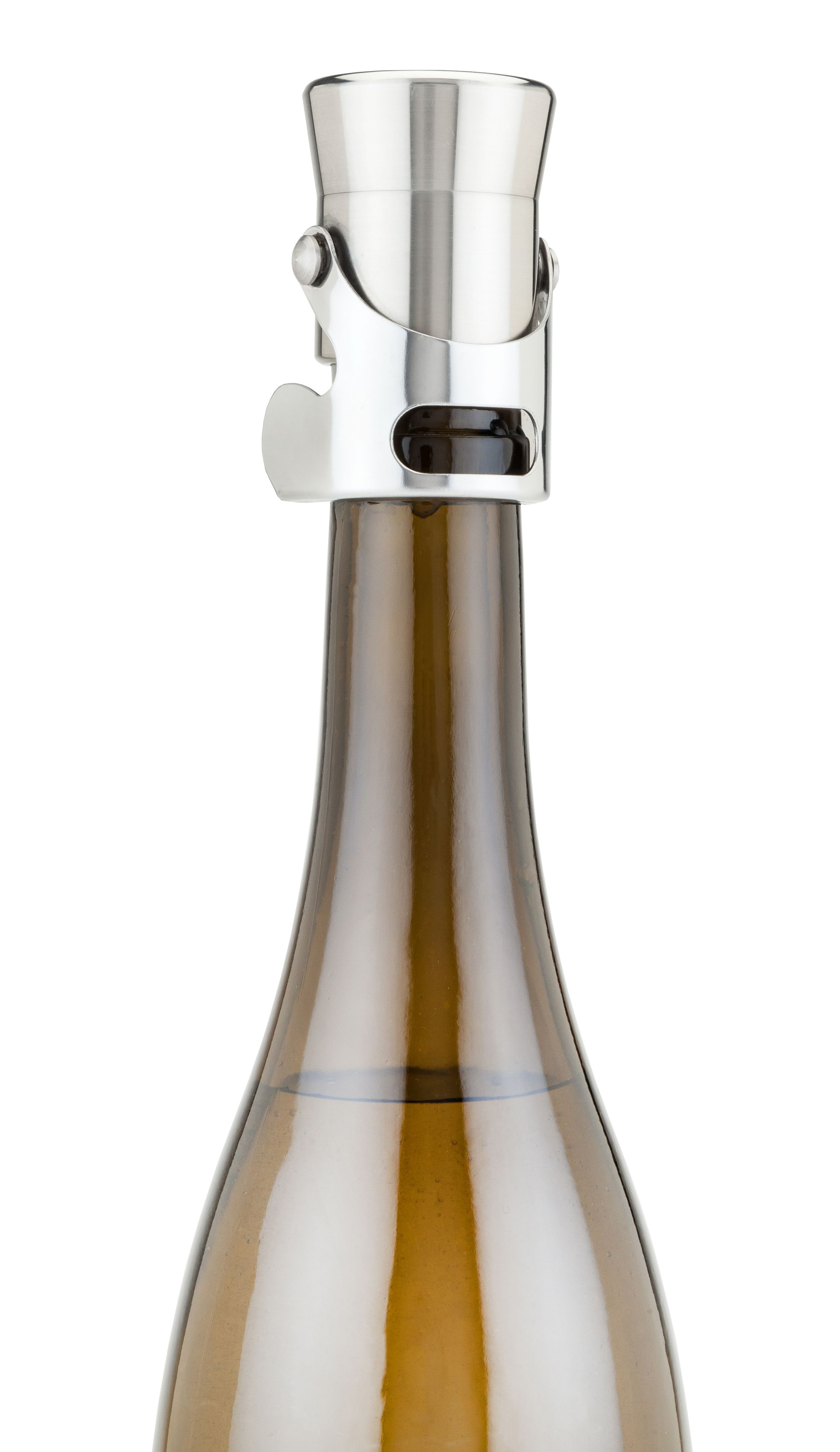 wine.com Stainless Steel Heavyweight Champagne Stopper  Gift Product Image