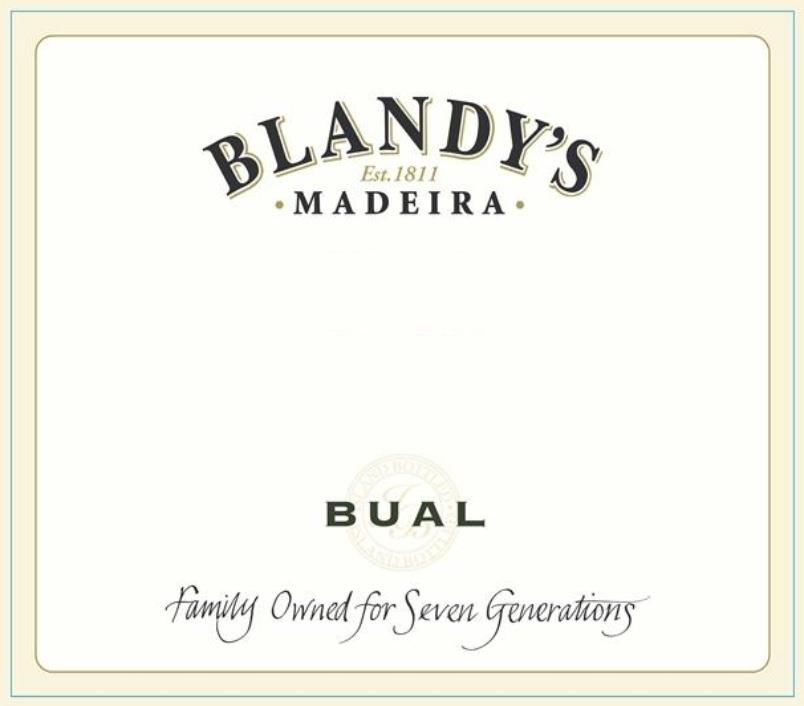 Blandy's Bual Madeira (500ml) 2003  Front Label