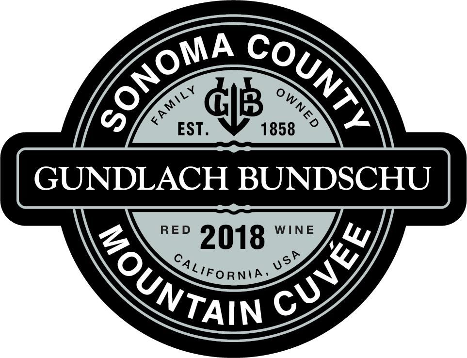 Gundlach Bundschu Mountain Cuvee 2018  Front Label