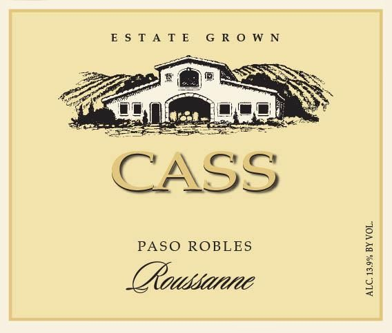 Cass Winery Roussanne 2018 Front Label