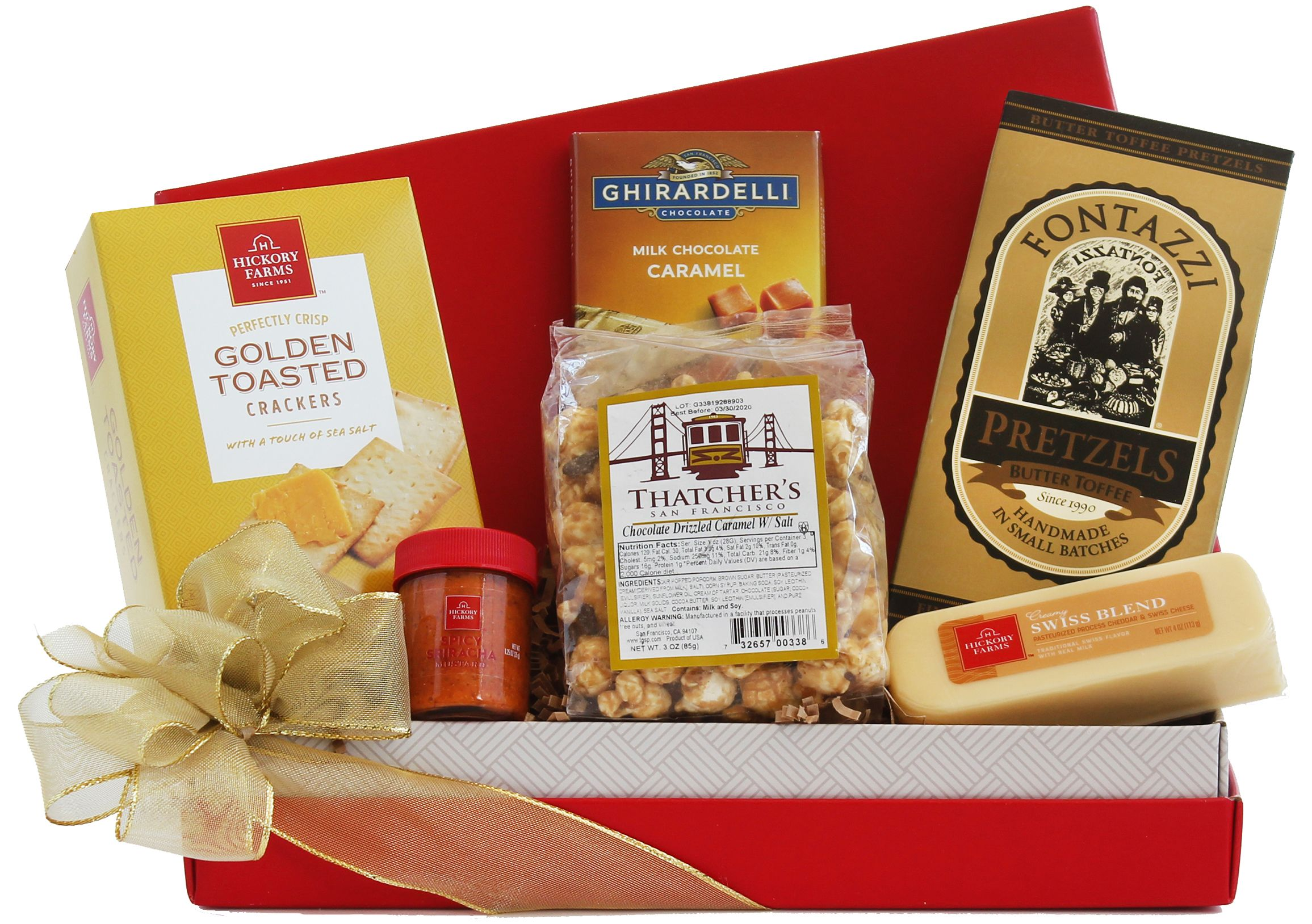 wine.com Tempting Treats Gift Box  Gift Product Image