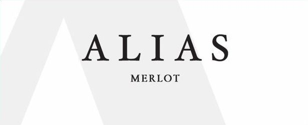 Alias Winery Merlot 2018  Front Label