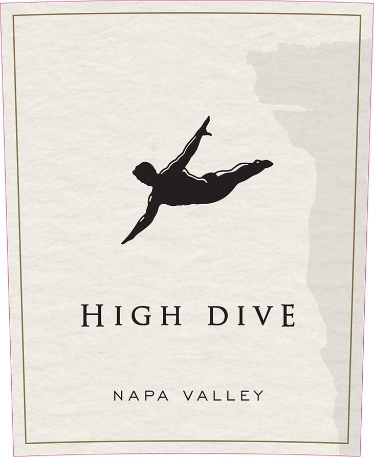 High Dive Napa Valley Red Blend 2015 Front Label
