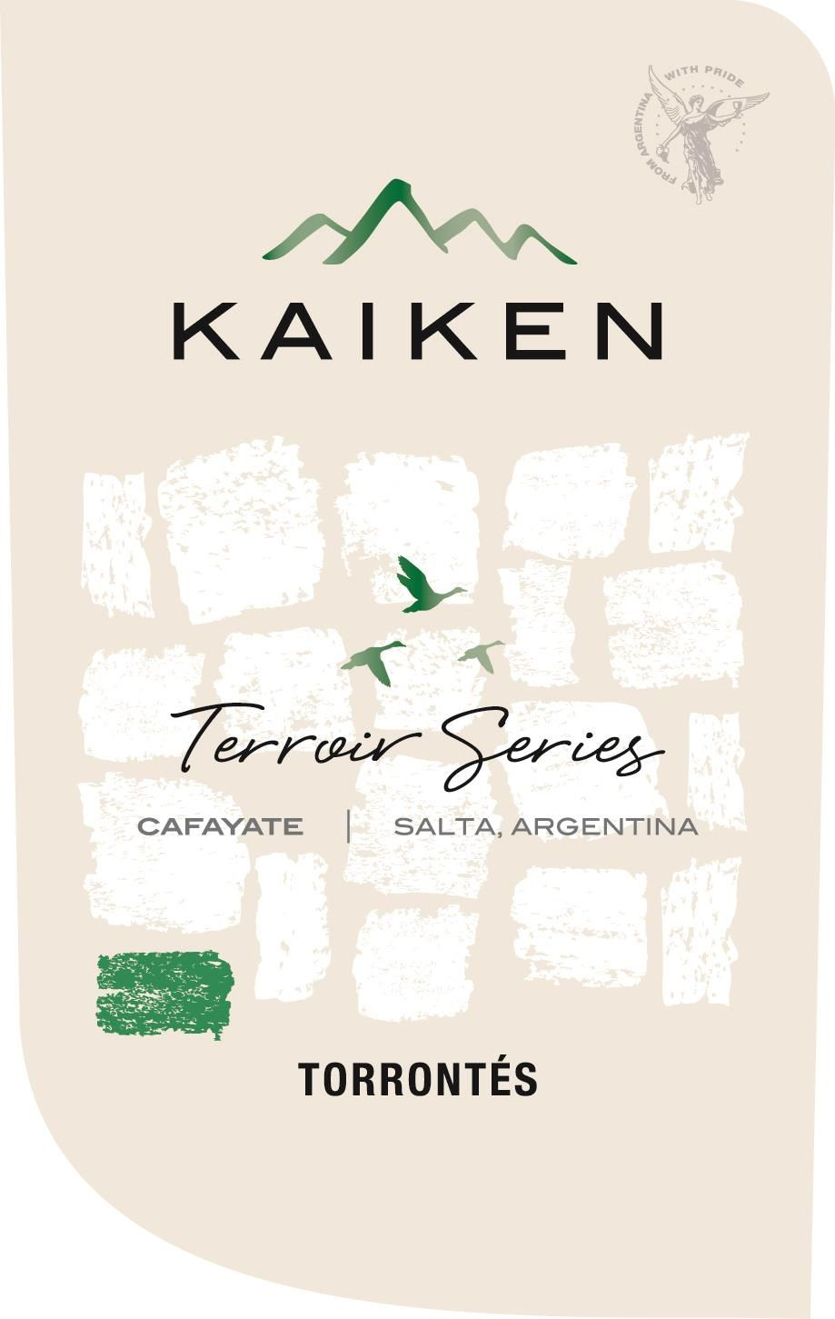 Kaiken Terroir Series Torrontes 2019  Front Label