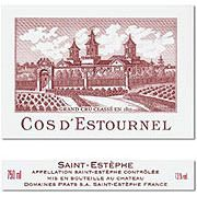 Chateau Cos d'Estournel  2018 Front Label