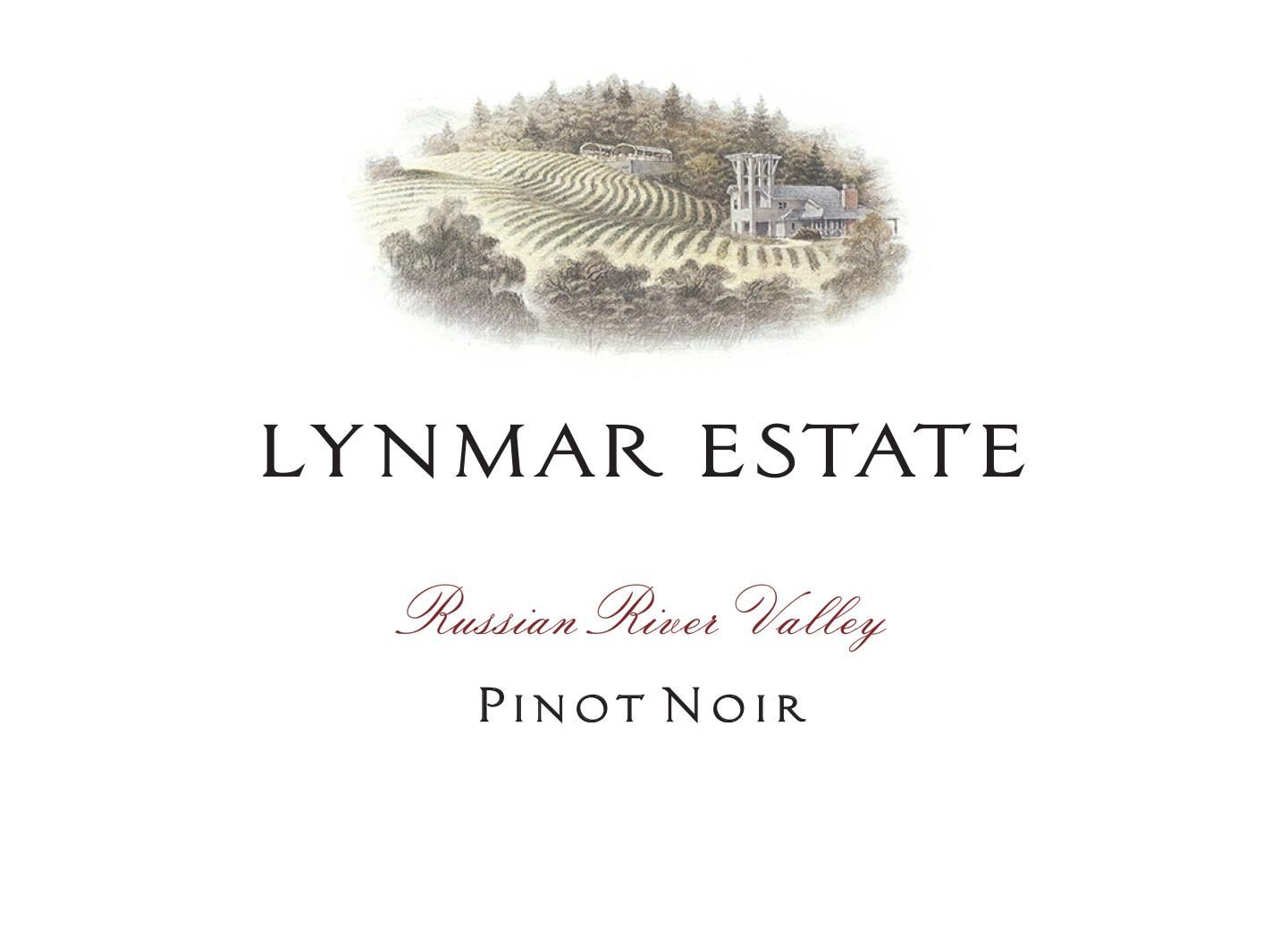 Lynmar Winery Russian River Pinot Noir 2017 Front Label
