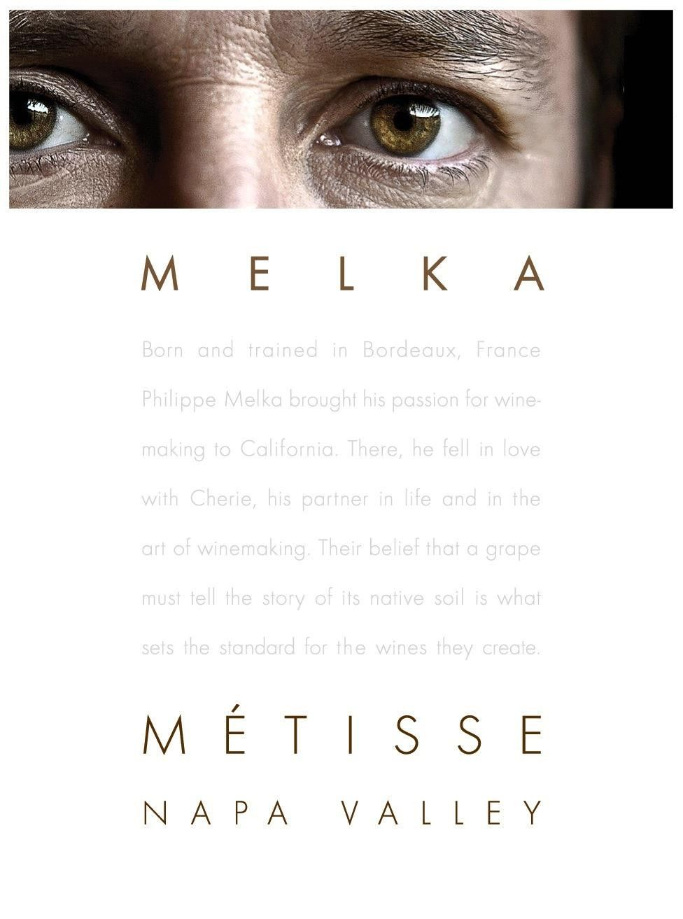 Melka Metisse Jumping Goat Vineyard 2008  Front Label