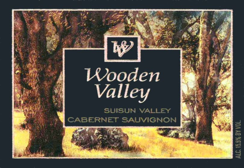 Wooden Valley Winery Suisun Valley Cabernet Sauvignon 2009 Front Label