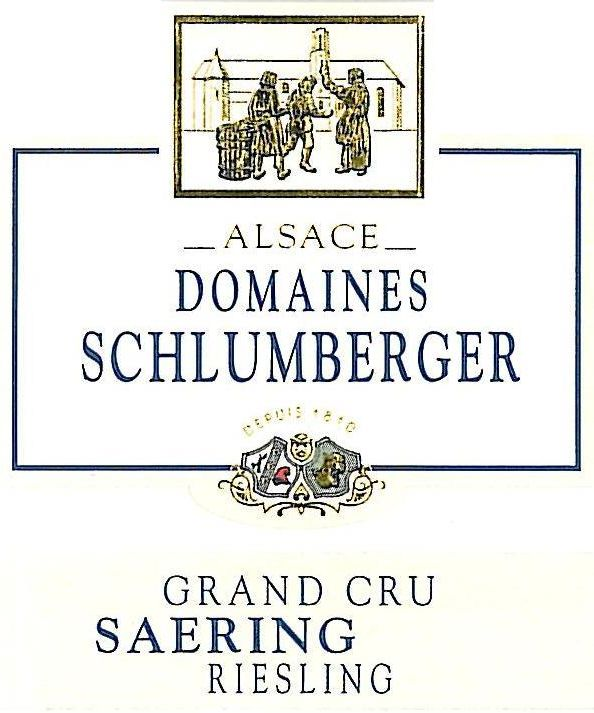 Domaines Schlumberger Grand Cru Saering Riesling 2016  Front Label
