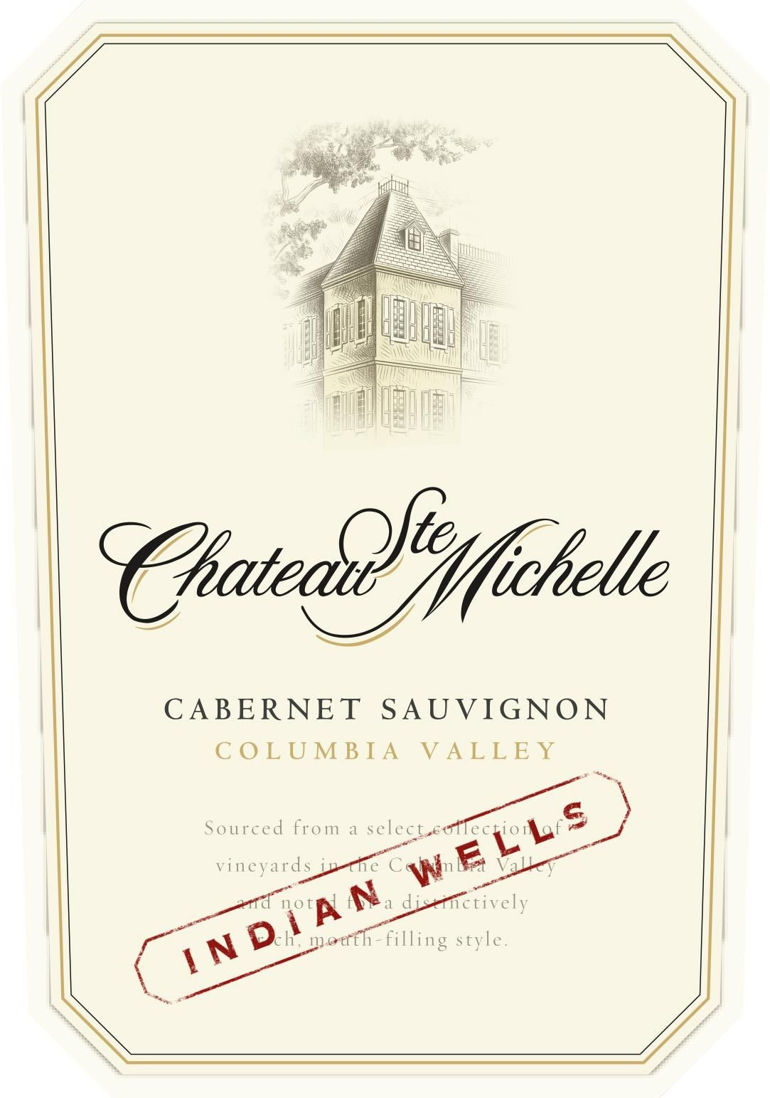 Chateau Ste. Michelle Indian Wells Cabernet Sauvignon 2017  Front Label