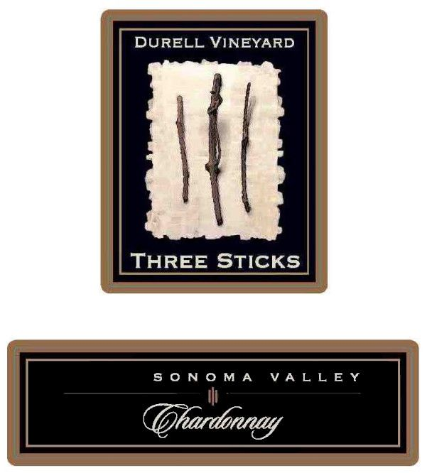 Three Sticks Durell Vineyard Chardonnay 2016 Front Label