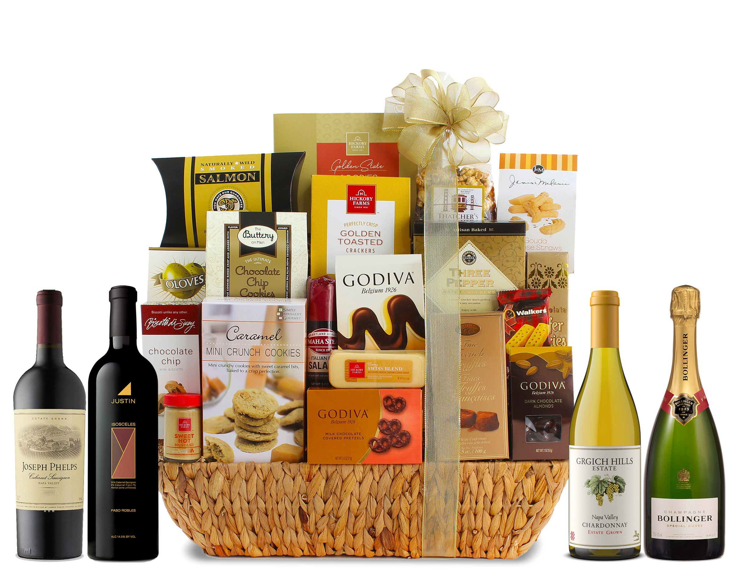wine.com Super Grand Gourmet Wine Gift Basket  Gift Product Image