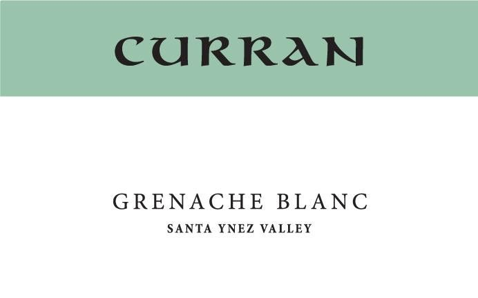 Curran Grenache Blanc 2018  Front Label