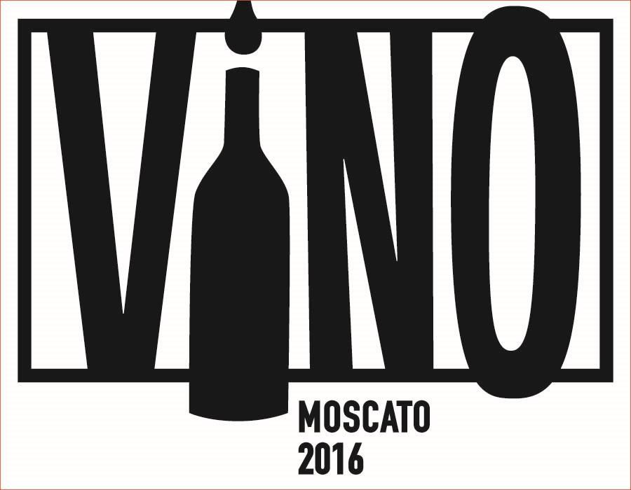 ViNO Moscato 2016 Front Label