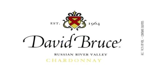 David Bruce Russian River Chardonnay 2015  Front Label